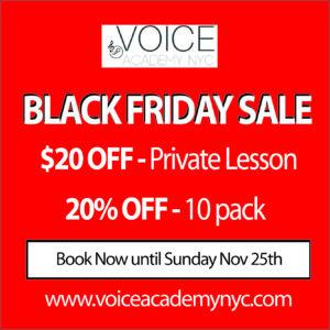 Voice Academy BLACK FRIDAY