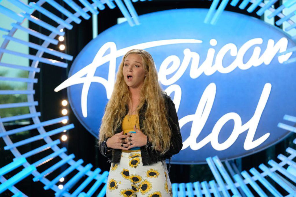 Shannon Gibbons- our most amazing singer – on American Idol 2020!